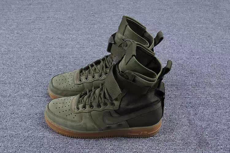 nike air force 1 olive green